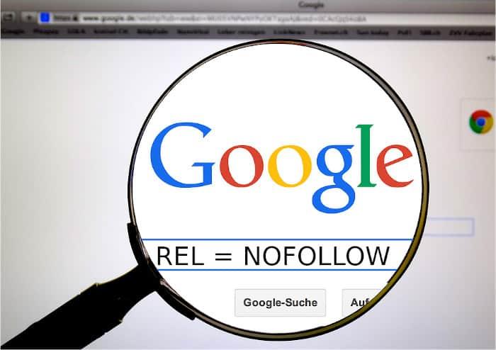 Google, rel nofollow e altri attributi